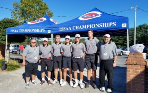 Golf Team Gets First Berth to the State Tournament