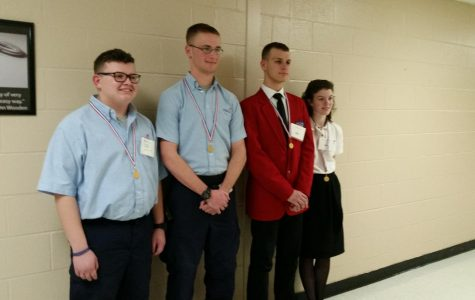 CCCHS Sends Competitors to SkillsUSA State