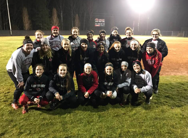 Front row (left to right)-Erin Ferrel, Eliza Carden, Katie Rutledge, Abigail Parker, Alexcia Barnes, Sarah West. Middle row (left to right)-Haley Miller, Haley Richardson, Gracie Pippenger, Kyla Craig, Ashley Evans, Amber Ingleburger, Lexi Holder, Justus Turner. Back row (left to right)-Jayden Scheller, Kerri Munn, Lauren Tomberlin, Kasarah Scheller, Tatum Baldwin, Raven Rogers, Shelby Scrivnor, Macie Campbell.