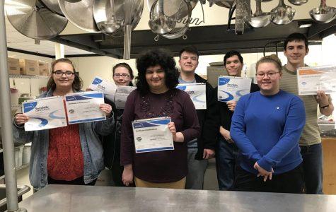 Culinary students get ServSafe certification