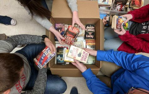 Books for Soldiers is Giving Back