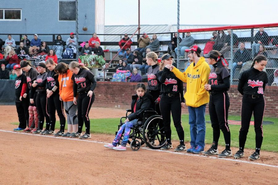 Softball Teams up with Special Services