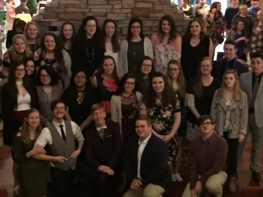 CCCHS Interact Goes to Conference and Earns First Place