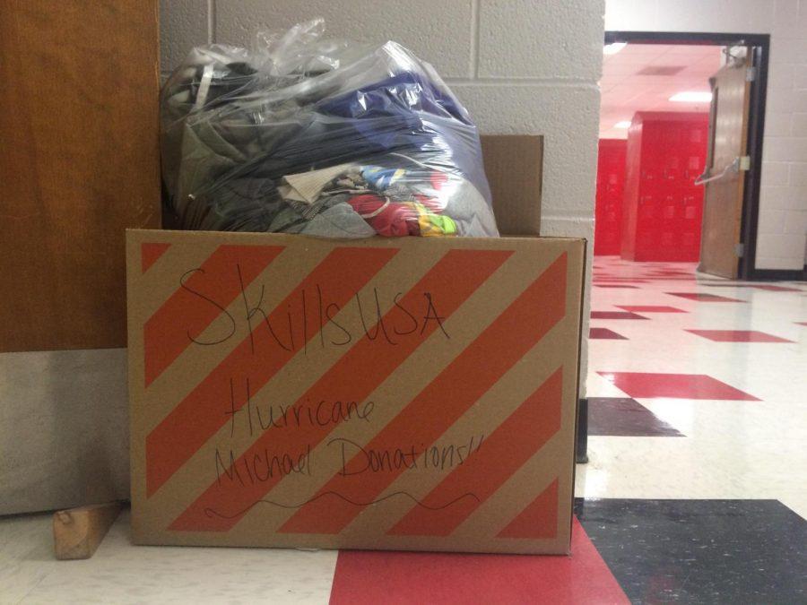 SkillsUSA Collects Hurricane Donations