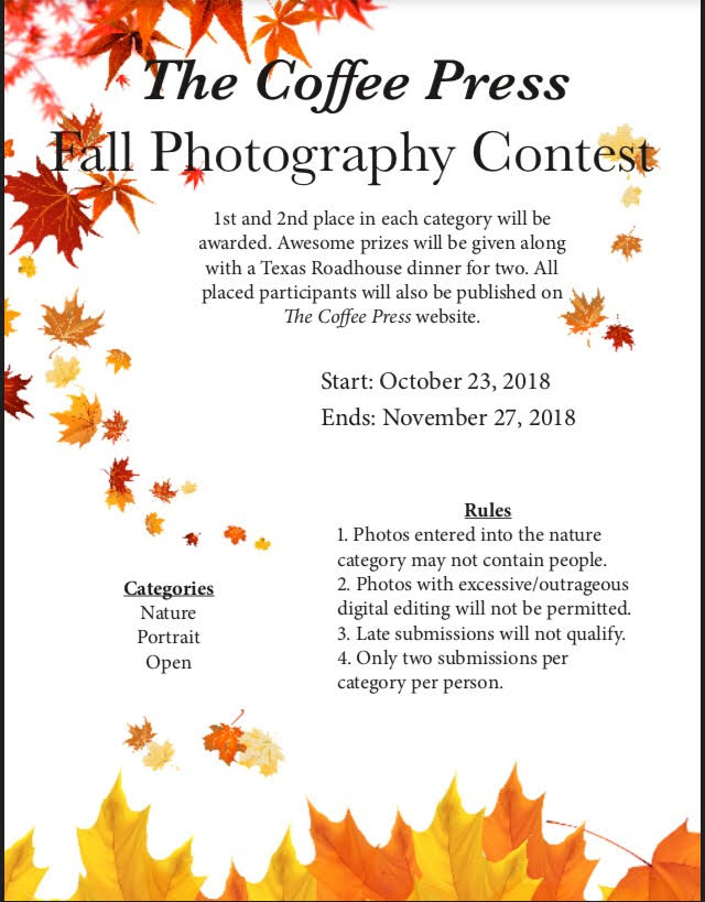 Take Pictures and Earn Prizes!