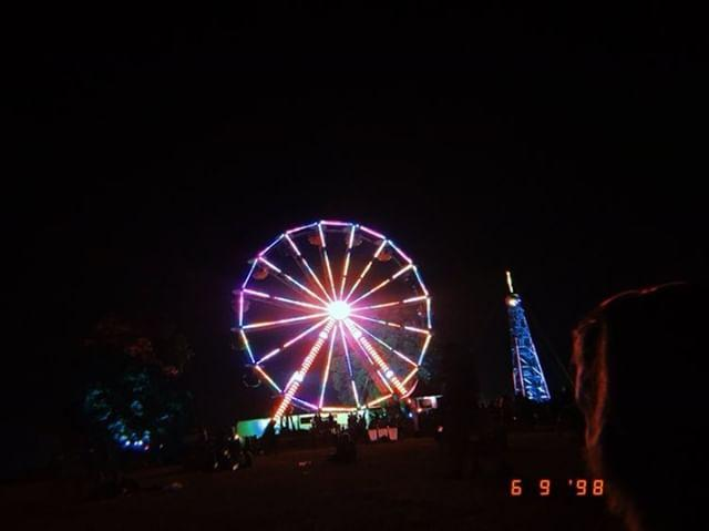 The ferris wheel at the Farm