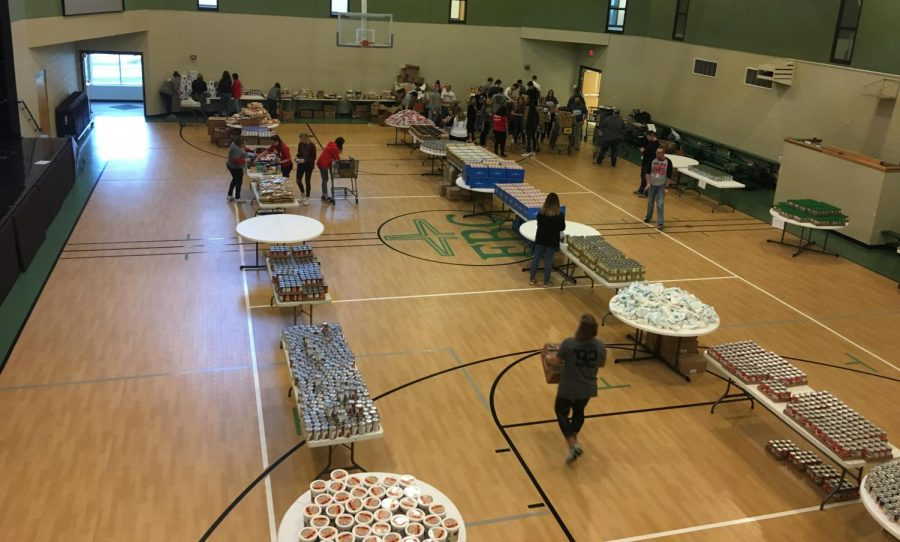 CCCHS Helps Families in Need