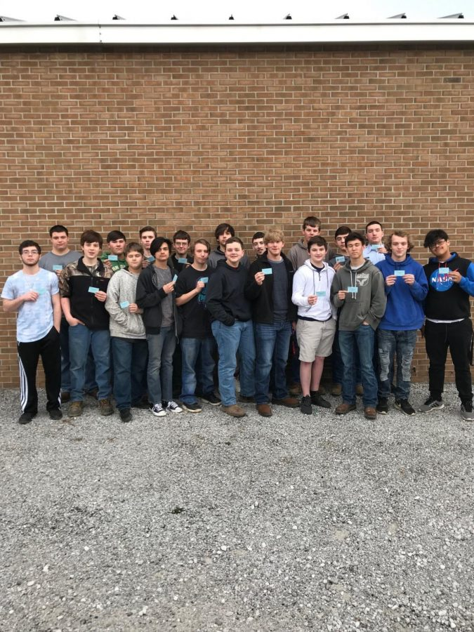 First Certifications Received in Machining Course