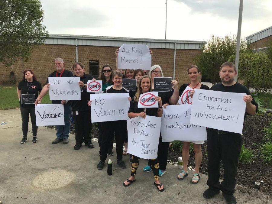 Vouchers are Destroying Public Education, According to CCCHS' Teachers