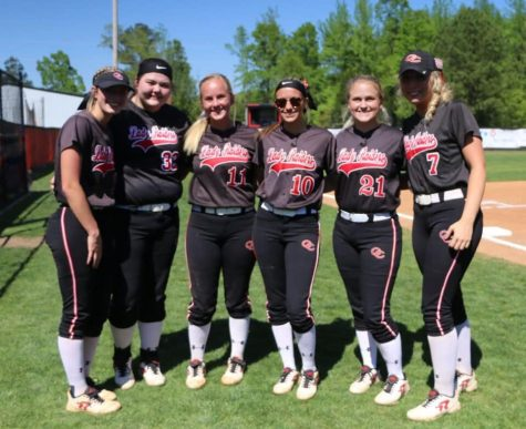 Senior Night For The Lady Raiders Softball Team – The Coffee