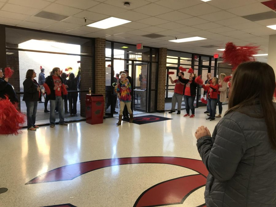 Teachers Rally Students for EOC Testing