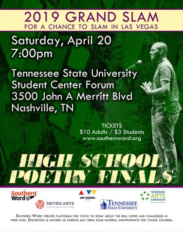 Young Writers to Perform at Returning Teen Poetry Slam