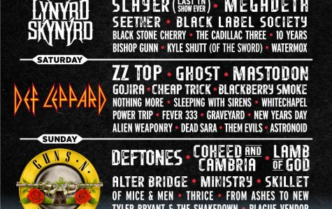 Stacked Line Up To Rock Exit 111 Festival