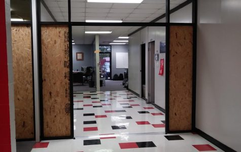 Improved security measures bring new doors to CCCHS.