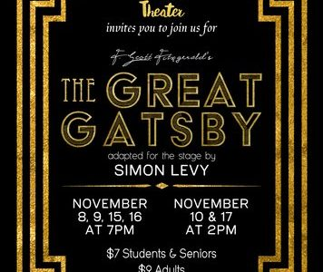 The CCCHS theatre department presents The Great Gatsby