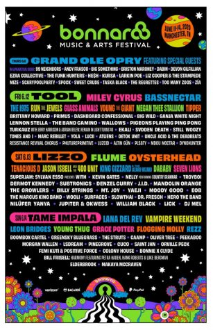 Diverse Bonnaroo Lineup Drops to Mixed Emotions