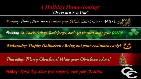 "Student Government plans ""Holiday Homecoming"""