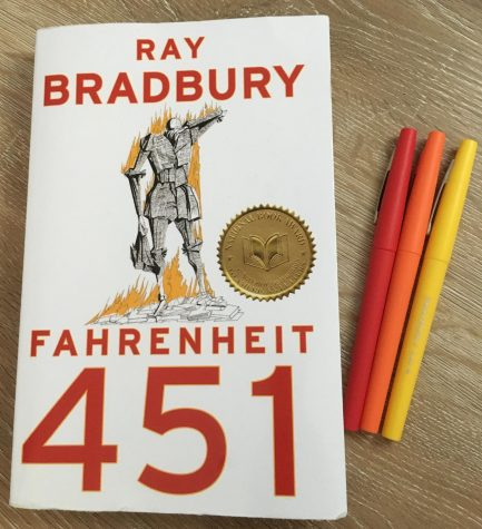"The sophomore class at CCCHS reads ""Farenheit 451,"" a futuristic novel about human behavior and government control."