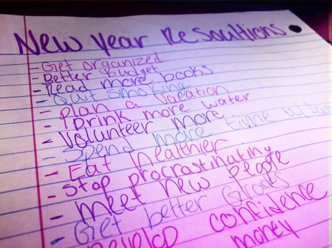 Many people write New Years Resolutions, but how often do they keep them?