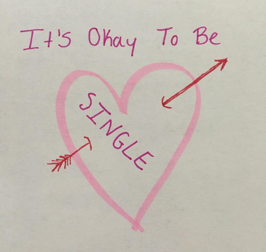 Valentine's Day can be tough for those without a significant other, but this student is here to tell you that it's okay to be single!