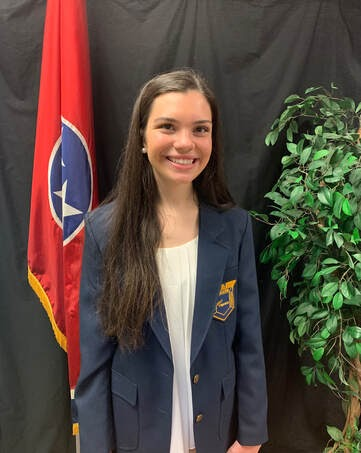 Elizabeth Brown has been elected the New TN FBLA state president.