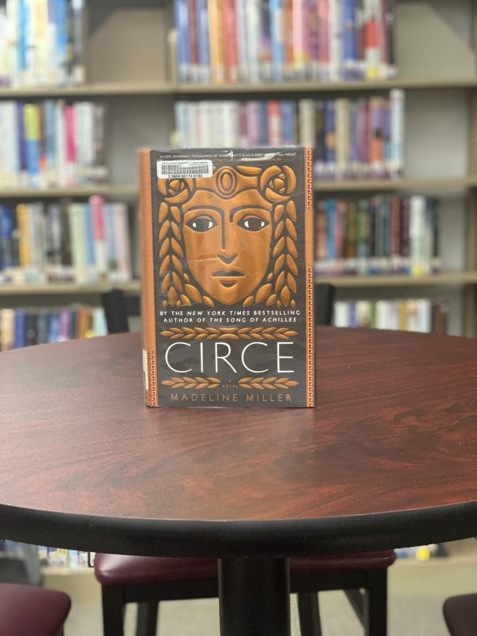 """The book """"Circe"""" by Madeline Miller is available for checkout at the Manchester Public Library."""