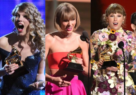 Pictured: Taylor Swift won Album of the Year in 2010, 2016, and 2021.