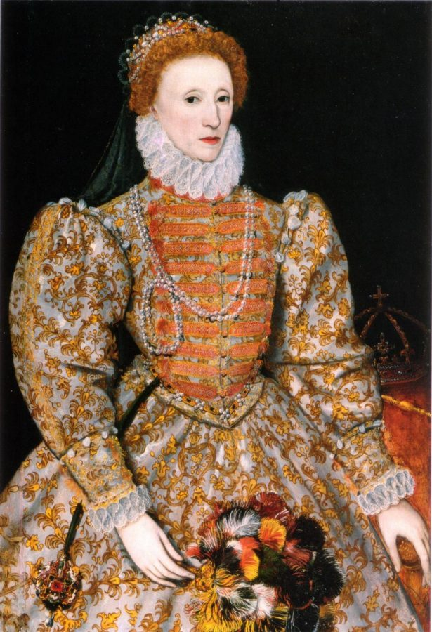 This is one of the most famous portraits of Queen Elizabeth I.